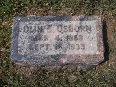 OSBORN, OLIN E. - Pottawattamie County, Iowa   OLIN E. OSBORN