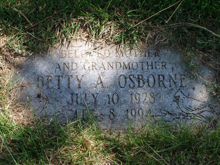 OSBORNE, BETTY - Pottawattamie County, Iowa | BETTY OSBORNE