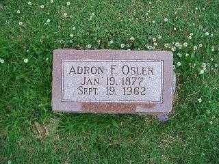 OSLER, ADRON - Pottawattamie County, Iowa | ADRON OSLER