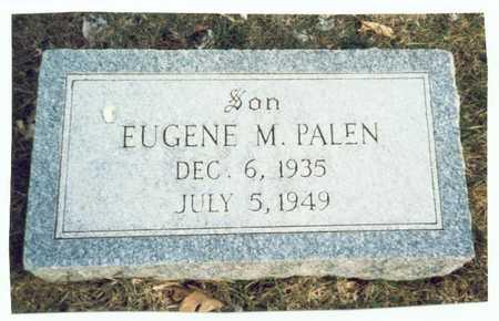 PALEN, EUGENE M. - Pottawattamie County, Iowa | EUGENE M. PALEN