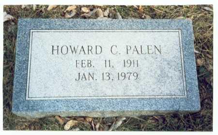 PALEN, HOWARD C. - Pottawattamie County, Iowa   HOWARD C. PALEN