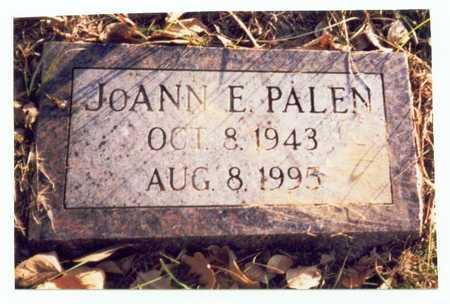 PALEN, JOANN E. - Pottawattamie County, Iowa | JOANN E. PALEN