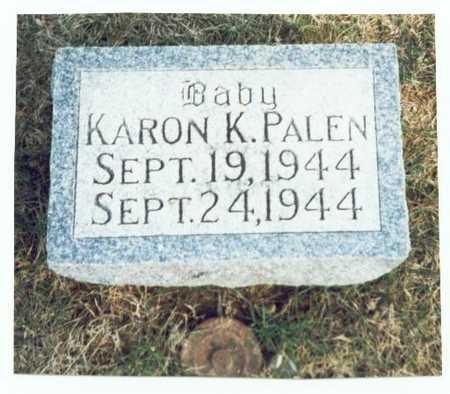 PALEN, KARON K. - Pottawattamie County, Iowa | KARON K. PALEN