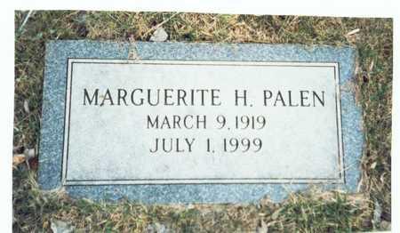 PALEN, MARGUERITE H. - Pottawattamie County, Iowa | MARGUERITE H. PALEN