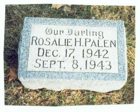 PALEN, ROSALIE H. - Pottawattamie County, Iowa | ROSALIE H. PALEN