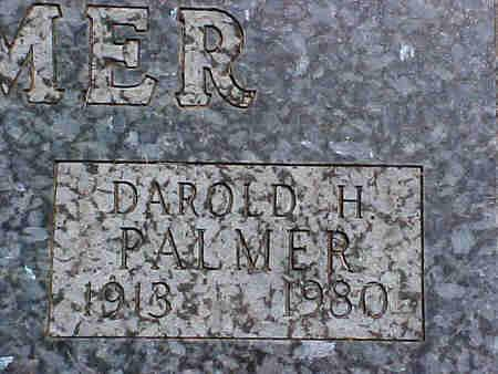 PALMER, DAROLD H. - Pottawattamie County, Iowa | DAROLD H. PALMER