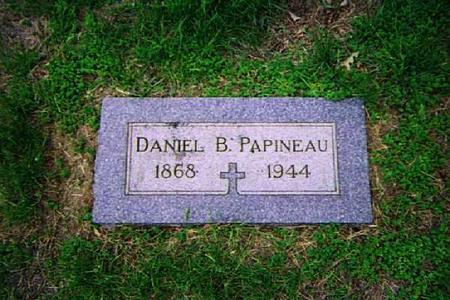 PAPINEAU, DANIEL B. - Pottawattamie County, Iowa | DANIEL B. PAPINEAU
