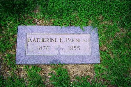 PAPINEAU, KATHERINE - Pottawattamie County, Iowa   KATHERINE PAPINEAU