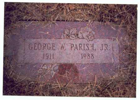 PARISH, GEORGE W. JR. - Pottawattamie County, Iowa | GEORGE W. JR. PARISH