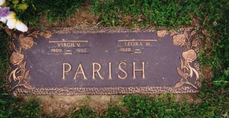 PARISH, VIRGIL - Pottawattamie County, Iowa | VIRGIL PARISH