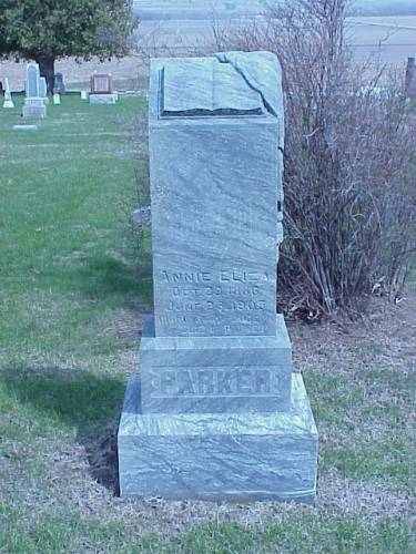 PARKER, HEADSTONE - Pottawattamie County, Iowa | HEADSTONE PARKER