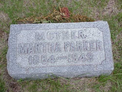 PARKER, MARTHA - Pottawattamie County, Iowa | MARTHA PARKER