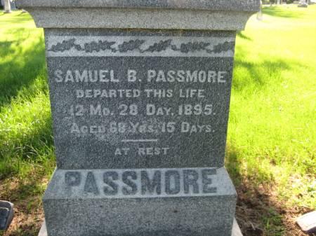 PASSMORE, SAMUEL - Pottawattamie County, Iowa | SAMUEL PASSMORE