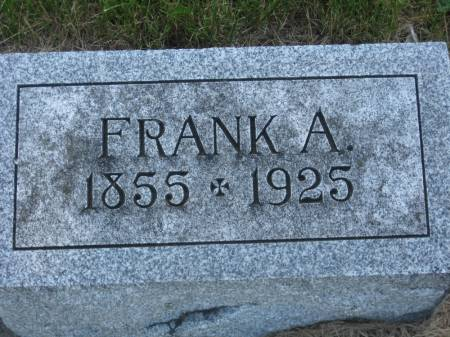 PATTERSON, FRANK A. - Pottawattamie County, Iowa | FRANK A. PATTERSON