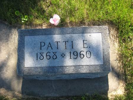 PATTERSON, PATTI E. - Pottawattamie County, Iowa | PATTI E. PATTERSON