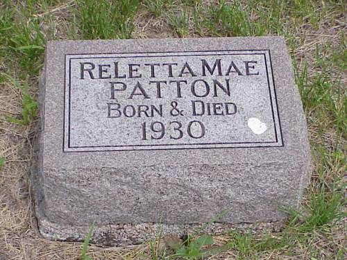 PATTON, RELETTA MAE - Pottawattamie County, Iowa | RELETTA MAE PATTON