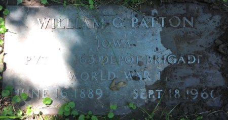PATTON, WILLIAM G - Pottawattamie County, Iowa | WILLIAM G PATTON