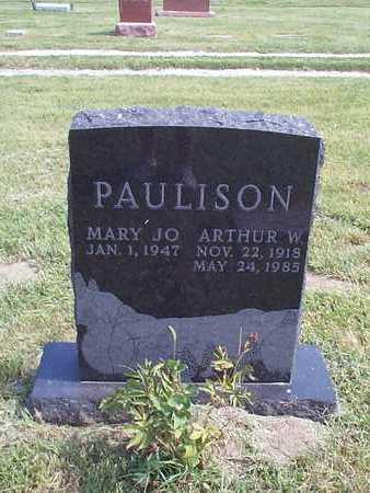 PAULSON, ARTHUR W. - Pottawattamie County, Iowa   ARTHUR W. PAULSON