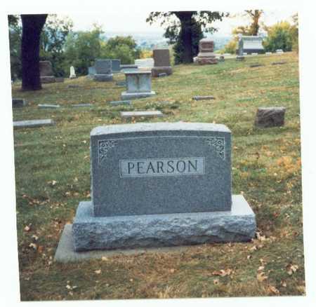 PEARSON, FAMILY MARKER - Pottawattamie County, Iowa | FAMILY MARKER PEARSON