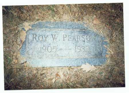 PEARSON, ROY W. - Pottawattamie County, Iowa | ROY W. PEARSON