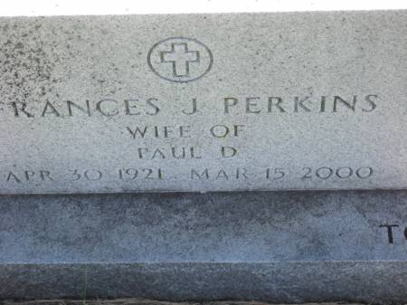 PERKINS, FRANCES J. - Pottawattamie County, Iowa | FRANCES J. PERKINS