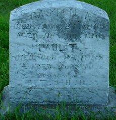 PERRY, GASTON A - Pottawattamie County, Iowa   GASTON A PERRY