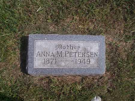 PETERSEN, ANNA M. - Pottawattamie County, Iowa   ANNA M. PETERSEN