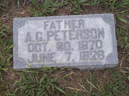 PETERSON, A.C. - Pottawattamie County, Iowa | A.C. PETERSON