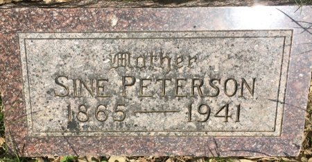 PETERSON, SINE - Pottawattamie County, Iowa | SINE PETERSON
