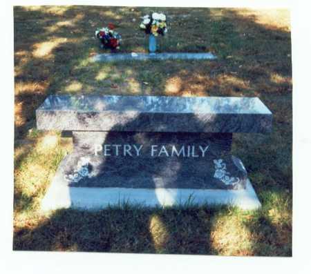 PETRY, FAMILY MARKER - Pottawattamie County, Iowa | FAMILY MARKER PETRY