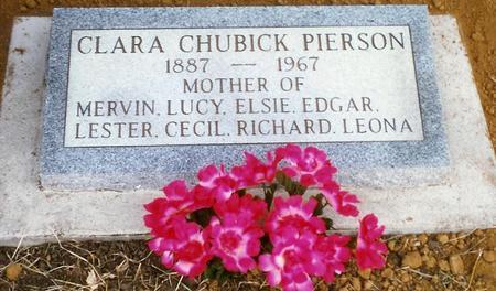 CHUBICK PIERSON, CLARA - Pottawattamie County, Iowa | CLARA CHUBICK PIERSON