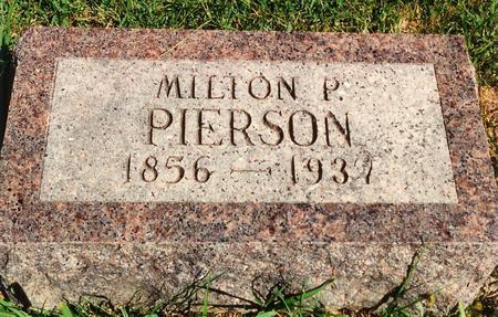PIERSON, MILTON - Pottawattamie County, Iowa | MILTON PIERSON