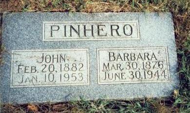 PINHERO, BARBARA - Pottawattamie County, Iowa | BARBARA PINHERO