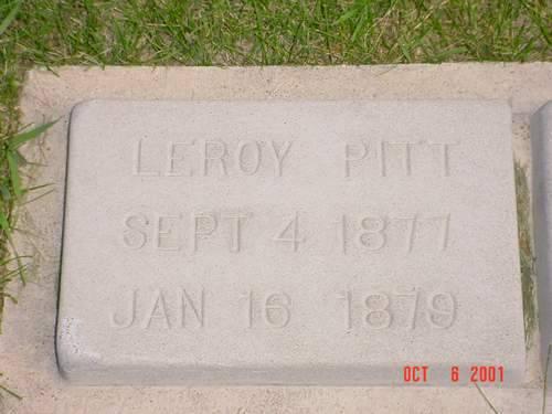 PITT, LEROY - Pottawattamie County, Iowa | LEROY PITT