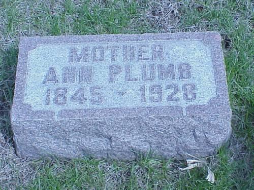 PLUMB, ANN - Pottawattamie County, Iowa | ANN PLUMB