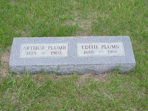 PLUMB, ARTHUR & EDITH - Pottawattamie County, Iowa | ARTHUR & EDITH PLUMB
