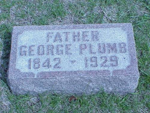 PLUMB, GEORGE - Pottawattamie County, Iowa | GEORGE PLUMB