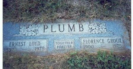 PLUMB, FLORENCE - Pottawattamie County, Iowa | FLORENCE PLUMB