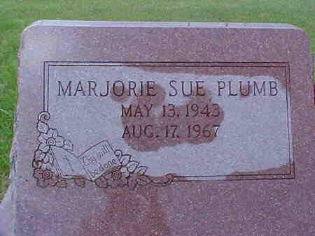 PLUMB, MARJORIE - Pottawattamie County, Iowa   MARJORIE PLUMB