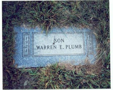 PLUMB, WARREN E. - Pottawattamie County, Iowa | WARREN E. PLUMB