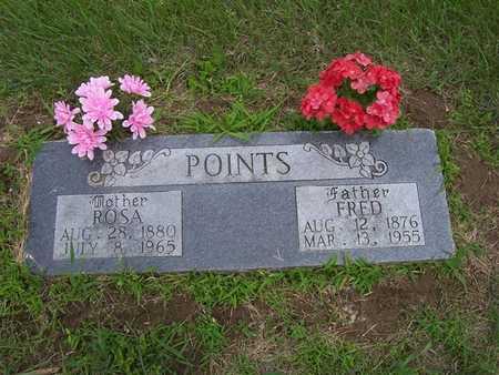 POINTS, FRED - Pottawattamie County, Iowa   FRED POINTS