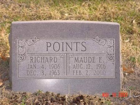 POINTS, RICHARD & MAUDE E. - Pottawattamie County, Iowa | RICHARD & MAUDE E. POINTS