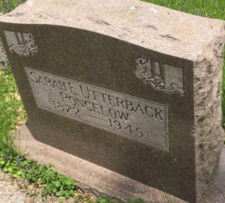UTTERBACK PONCELOW, SARAH E - Pottawattamie County, Iowa | SARAH E UTTERBACK PONCELOW