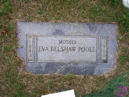 POOLE BELSHAW, EVA - Pottawattamie County, Iowa | EVA POOLE BELSHAW