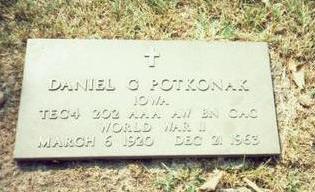 POTKONAK, DANIEL G. - Pottawattamie County, Iowa | DANIEL G. POTKONAK