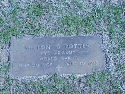 POTTER, MILTON G. - Pottawattamie County, Iowa | MILTON G. POTTER