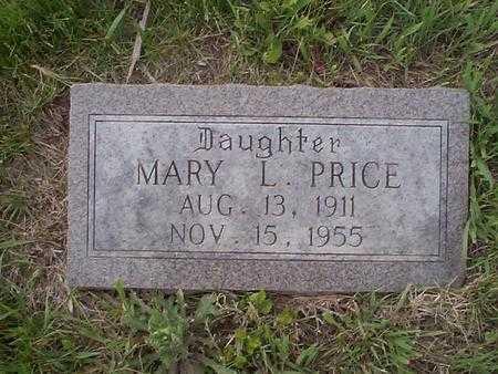 PRICE, MARY L. - Pottawattamie County, Iowa | MARY L. PRICE