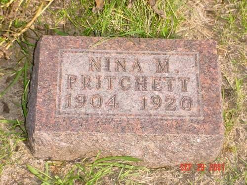 PRITCHETT, NINA M. - Pottawattamie County, Iowa | NINA M. PRITCHETT