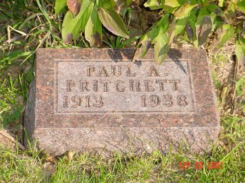 PRITCHETT, PAUL A. - Pottawattamie County, Iowa | PAUL A. PRITCHETT