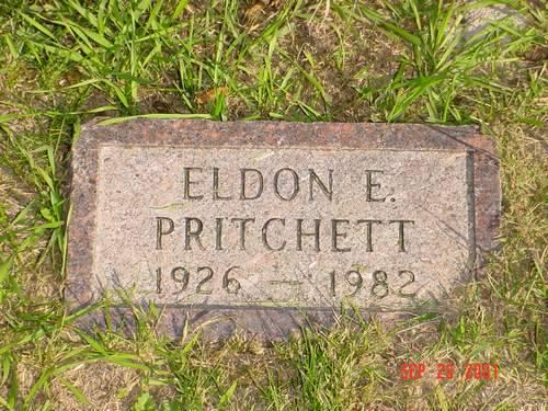 PRITCHETT, ELDON E. - Pottawattamie County, Iowa | ELDON E. PRITCHETT